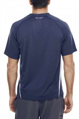 Vapor Heather Tee With Vent